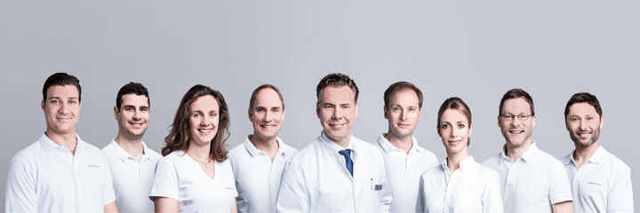 Team Implantatzentrum Schweiz